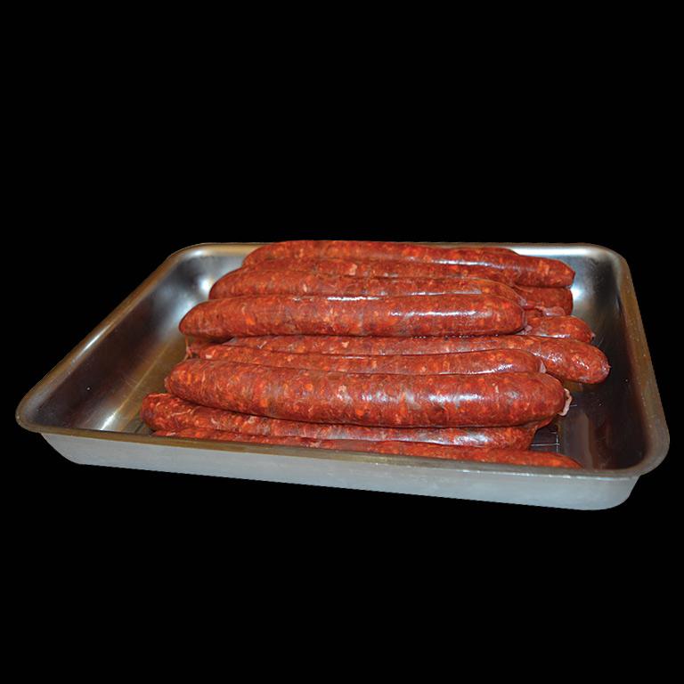 Au Fil du Couteau a reçu la Mention d'honneur pour ses saucisses au Piment d'Espelette