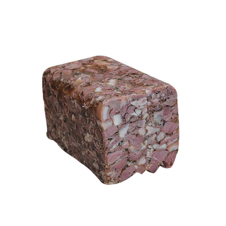 Au Fil du Couteau a reçu le 1er Prix national pour son Fromage de tête de porc pour son apprenti Fabien PEUVREL